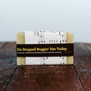 Music City Suds soap made in Nashville, Tennessee